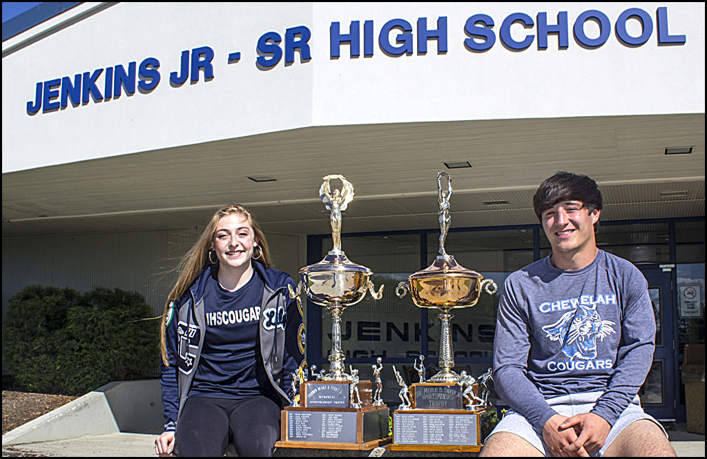 CHEWELAH ATHLETICS: Kirry, Jeanneret win top athlete awards