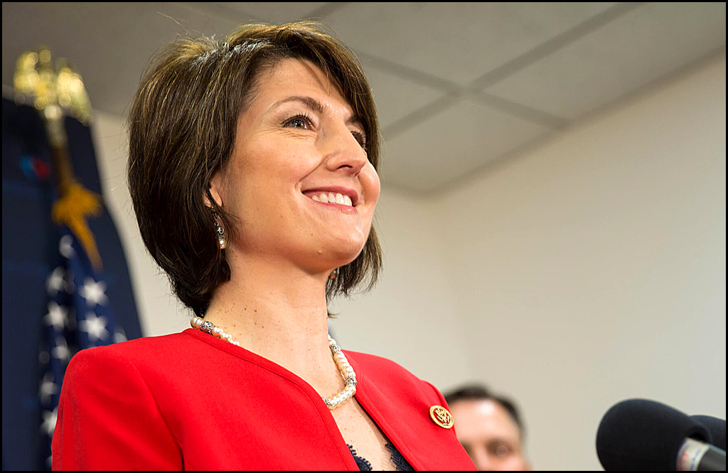 Cathy McMorris Rodgers looks to two more years in Congress