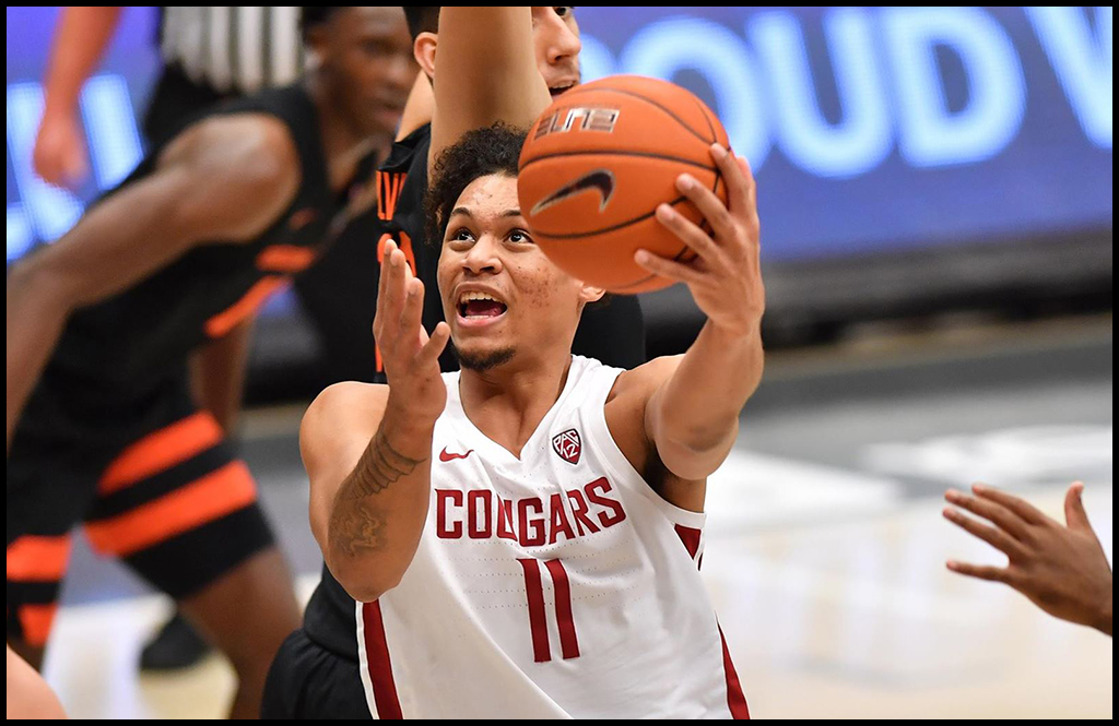 COLLEGE BASKETBALL: WSU men stay undefeated with win over Oregon State