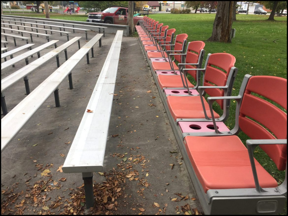 CITY OF CHEWELAH: Centerstage gets an upgrade in city park