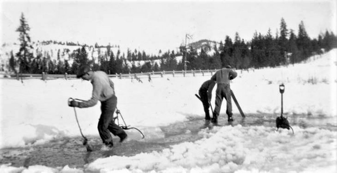 BLAST FROM THE PAST: Ice cutting in 1938